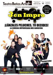 Cartel 3 en Impro (5ª temporada)