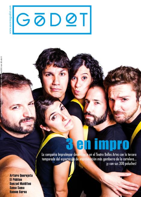 Portada Godot Noviembre 2015: 3 en Impro