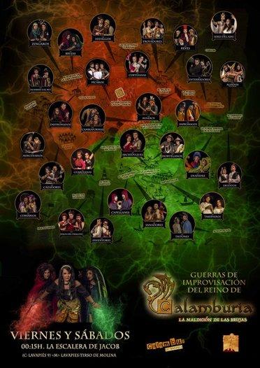 Cartel Guerras de Calamburia