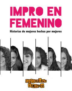 Cartel Impro en Femenino - Calambur