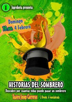 Cartel Historias del Sombrero - Improbeta