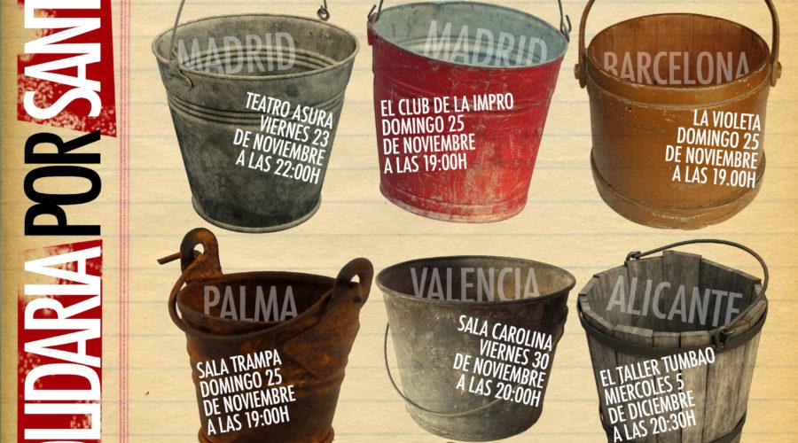 Impro solidaria con Sant Llorenç, Mallorca