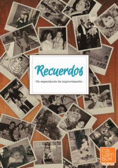 Cartel Recuerdos - Calambur Teatro