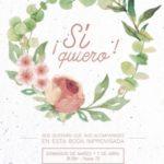 Cartel ¡Si, Quiero! de Calambur Teatro
