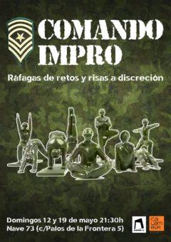 Cartel Comando Impro - Escuela Calambur