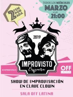 Cartel Improvisto España - 2a temporada